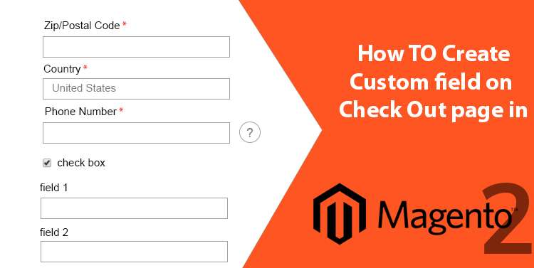 How to create Custom Field on checkout page in Magento 2