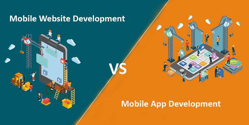 Mobile app development v/s Mobile website development
