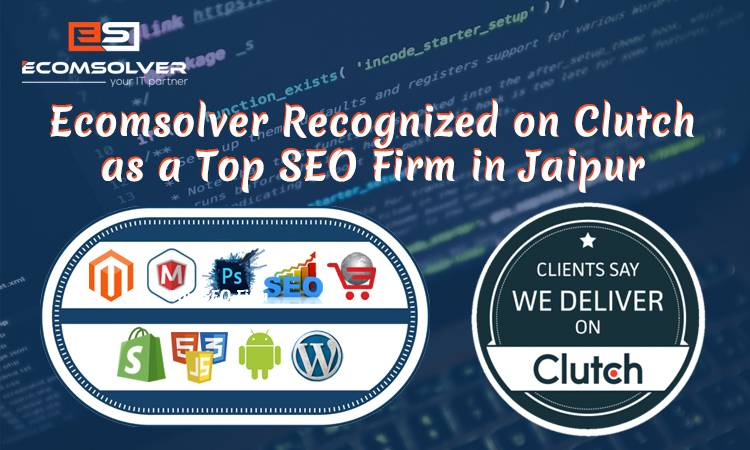 Ecomsolver Recognized on Clutch as a Top SEO Firm in Jaipur